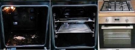 single-oven-cleaning