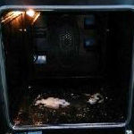 Cleaning a Single Oven